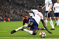 Davinson Sánchez of Tottenham Hotspur during Tottenham Hotspur vs Manchester City, Premier League Football at Wembley Stadium on 14th April 2018