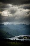 Dark clouds over Ullswater