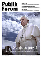publik-forum.dePope Francis during of a weekly general audience at St Peter's square in Vatican.June 27, 2018