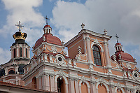 St. Casimir's Church was built in early 17th century for the Jesuits.