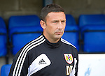 St Johnstone v Bristol City....28.07.12  Pre-Season Friendly.Bristol City manager Derek McInnes.Picture by Graeme Hart..Copyright Perthshire Picture Agency.Tel: 01738 623350  Mobile: 07990 594431