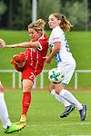 12.08.2017, Sportplatz, Hawangen, GER, FSP, Bayern M&uuml;nchen vs FC Z&uuml;rich Frauen, im Bild Nicole Rolser (Muenchen #29), Sandrine Mauron (Zuerich #19)<br /> <br /> Foto &copy; nordphoto / Hafner
