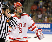 Kevin Shattenkirk (BU - 3) - The Boston University Terriers defeated the University of Maine Black Bears 1-0 (OT) on Saturday, February 16, 2008 at Agganis Arena in Boston, Massachusetts.