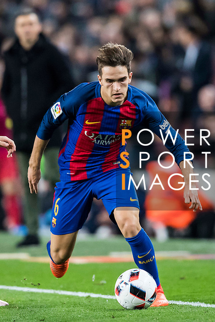 Denis Suarez Fernandez of FC Barcelona in action during their Copa del Rey 2016-17 Semi-final match between FC Barcelona and Atletico de Madrid at the Camp Nou on 07 February 2017 in Barcelona, Spain. Photo by Diego Gonzalez Souto / Power Sport Images