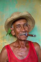 JTrinidad, Cuba, 2009. uan Bastida on his 83rd birthday, Trinidad, Cuba, 2009