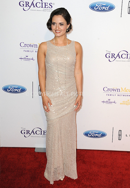 WWW.ACEPIXS.COM<br /> <br /> May 24 2016, LA<br /> <br /> Danica McKellar arriving at the 41st Annual Gracie Awards at the Regent Beverly Wilshire Hotel on May 24, 2016 in Beverly Hills, California.<br /> <br /> By Line: Peter West/ACE Pictures<br /> <br /> <br /> ACE Pictures, Inc.<br /> tel: 646 769 0430<br /> Email: info@acepixs.com<br /> www.acepixs.com