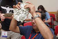 New York, NY, USA - June 24-25, 2017: OrigamiUSA 2017 Convention at St. John's University, Queens, New York, USA.