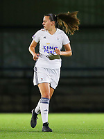 20190920 – LEUVEN, BELGIUM : OHL's Hannah Eurlings is pictured during a women soccer game between Dames Oud Heverlee Leuven A and RSC Anderlecht Ladies on the fourth matchday of the Belgian Superleague season 2019-2020 , the Belgian women's football  top division , friday 20 th September 2019 at the Stadion Oud-Heverlee Korbeekdam in Oud Heverlee  , Belgium  .  PHOTO SPORTPIX.BE | SEVIL OKTEM