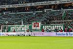 11.02.2018, Weserstadion, Bremen, GER, 1.FBL, SV Werder Bremen vs VfL Wolfsburg<br /> <br /> im Bild<br /> Fan-Protest in der Ostkurve gegen Videobeweis, &quot;Videobeweis abschaffen&quot;,  <br /> <br /> Foto &copy; nordphoto / Ewert