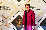 Billie Jean King  at BBC Sports Personality of the Year, Birmingham, UK - 16 Dec 2018 photo by chris wynne