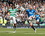 Kenny Miller with a lob