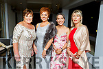 Catherine Collins (Cork), Jennifer Mackey (Manor Village), Lacey Kerins (Castleisland) and Jean Connors (Kildare) attending the Enable Ireland Diamond Ball in the Ballygarry House Hotel on Saturday.