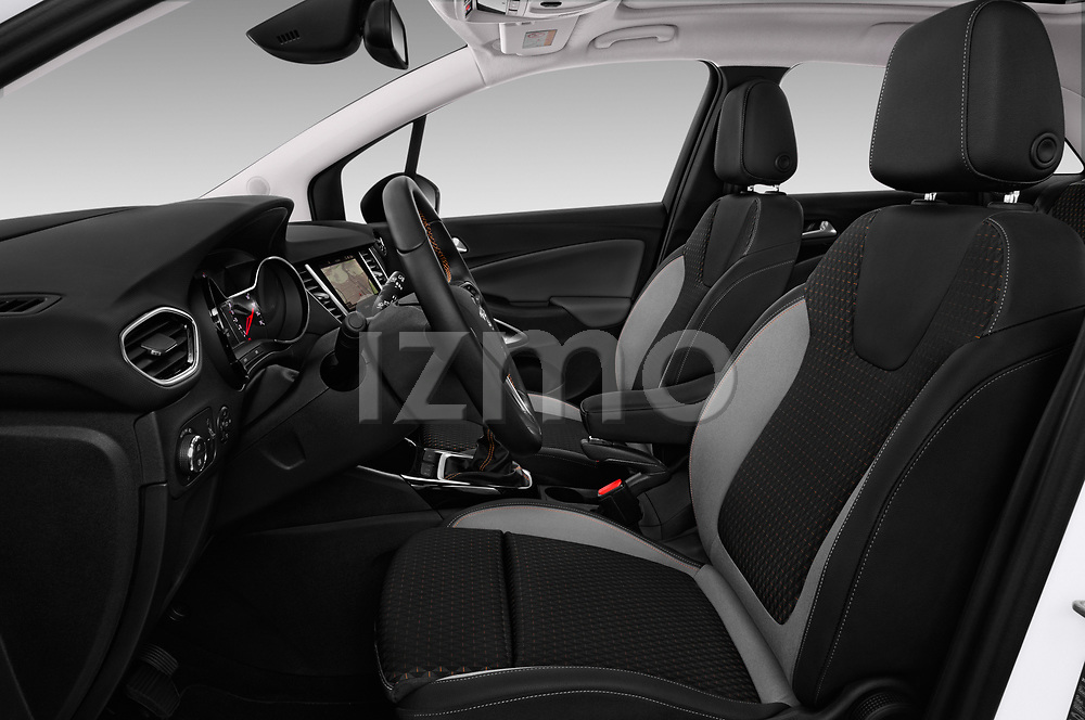 Front seat view of a 2018 Opel Crossland X Innovation 5 Door SUV front seat car photos