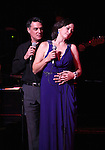 Robert Cuccioli and Linda Eder  performing their show 'A New Life' ('Jekyll & Hyde' Reunion) at The Town Hall on October 13, 2012 in New York City.