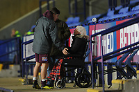 Daniel James of Swansea City with fans at full time during the Sky Bet Championship match between Bolton Wanderers and Swansea City at the Macron Stadium in Bolton, England, UK. Saturday 10 November 2018