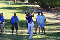 Yi-keun Chang (KOR) in action on the 1st during Round 2 Matchplay of the ISPS Handa World Super 6 Perth at Lake Karrinyup Country Club on the Sunday 11th February 2018.<br /> Picture:  Thos Caffrey / www.golffile.ie<br /> <br /> All photo usage must carry mandatory copyright credit (&copy; Golffile   Thos Caffrey)