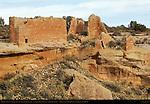 Hovenweep Castle, Anasazi Hisatsinom Ancestral Puebloan Site, Square Tower Settlement, Little Ruin Canyon, Hovenweep National Monument, Colorado - Utah Border