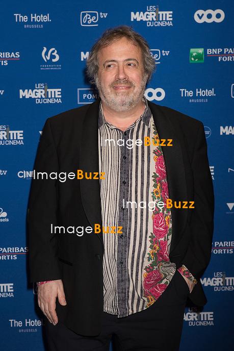 Jaco Van Dormael :  7&egrave;me C&eacute;r&eacute;monie des Magritte du Cin&eacute;ma, qui r&eacute;compense le septi&egrave;me art belge, au Square, &agrave; Bruxelles.<br /> 7th edition of the Magritte du Cinema awards ceremony.<br /> Belgium, Brussels, 4 February 2017