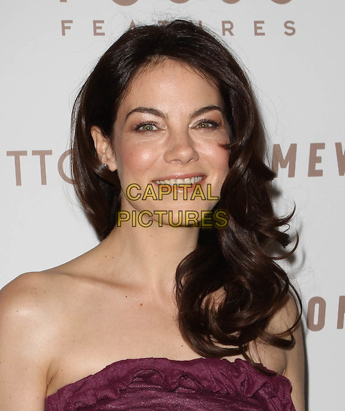 "MICHELLE MONAGHAN.Premiere of ""Somewhere"" held At The Arclight Theatres, Hollywood, CA, USA..December 7th, 2010.headshot portrait pink purple strapless .CAP/ADM/KB.©Kevan Brooks/AdMedia/Capital Pictures."