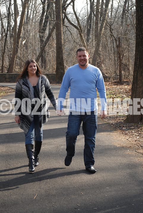 NEWTOWN, PA - DECEMBER 15, 2012: The Caruso's photographed December 15, 2012 in Newtown, Pennsylvania. (Photo by William Thomas Cain/Cain Images)