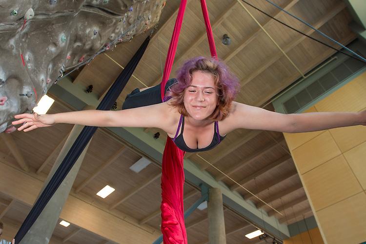 Aerial Silks, Recreation, Rec Cen,