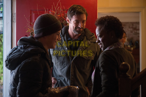 Hugh Jackman, Viola Davis<br /> in Prisoners (2013) <br /> *Filmstill - Editorial Use Only*<br /> CAP/NFS<br /> Image supplied by Capital Pictures