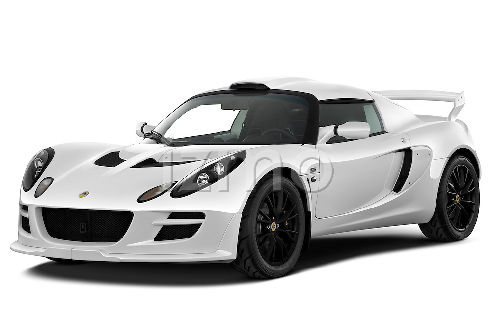Front three quarter view of a 2009 Lotus Exige S 2 Door Coupe.
