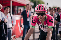 surprise 2nd finisher Michael Woods (CAN/Education First-Drapac)<br /> <br /> 104th Li&egrave;ge - Bastogne - Li&egrave;ge 2018 (1.UWT)<br /> 1 Day Race: Li&egrave;ge - Ans (258km)