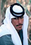 Marsh Arabs. Southern Iraq.  Marsh Arab man. Haur al Mamar or Haur al-Hamar marsh collectively known now as Hammar marshes Iraq 1984