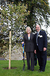 Principal Richard Schmidt with his wife Carmel at the Tree Planting Ceremony as Drogheda Grammar School celebrate 340 years of education...Photo NEWSFILE/Jenny Matthews.(Photo credit should read Jenny Matthews/NEWSFILE)....This Picture has been sent you under the condtions enclosed by:.Newsfile Ltd..The Studio,.Millmount Abbey,.Drogheda,.Co Meath..Ireland..Tel: +353(0)41-9871240.Fax: +353(0)41-9871260.GSM: +353(0)86-2500958.email: pictures@newsfile.ie.www.newsfile.ie.FTP: 193.120.102.198.