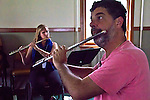 Port Townsend, Fort Worden, Centrum, Choro musicians, Eduardo Neves, flute, Choro Workshop, Brazilian music, Thursday, Olympic Peninsula, Washington State, music, music festivals,
