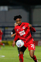 Jayden Sweeney of Leyton Orient during the The Leasing.com Trophy match between AFC Wimbledon and Leyton Orient at the Cherry Red Records Stadium, Kingston, England on 8 October 2019. Photo by Carlton Myrie / PRiME Media Images.