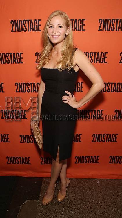 Jennifer Westfeldt attends the Opening Night performance of 'A Parallelogram'  at The Second Stage Theatre on August 2, 2017 in New York City.