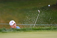 Sung Kang (USA) hits from the trap on 5 during Rd3 of the 2019 BMW Championship, Medinah Golf Club, Chicago, Illinois, USA. 8/17/2019.<br /> Picture Ken Murray / Golffile.ie<br /> <br /> All photo usage must carry mandatory copyright credit (© Golffile   Ken Murray)