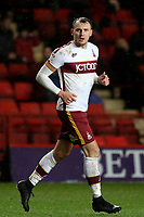 Charlie Wyke of Bradford City during Charlton Athletic vs Bradford City, Sky Bet EFL League 1 Football at The Valley on 13th February 2018
