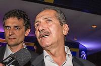SAO PAULO, SP, 02 DE DEZEMBRO - PREMIO CRAQUE DO BRASILEIRÃO - Ministro do esporte Aldo Rebelo durante a cerimônia da Premiação Brasileirão 2012, na casa de shows HSBC Arena, na zona sul de São Paulo, nesta segunda-feira FOTO: VANESSA CARVALHO - BRAZIL PHOTO PRESS.