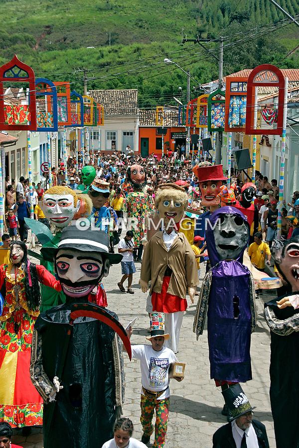 Bloco carnavalesco em Paraitinga. São Paulo. 2007. Foto de Caetano Barreira.