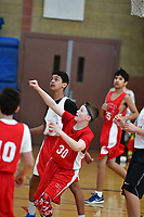 Colin Braga basketball action in the CYO finals in Dublin, CA Sunday Feb. 3, 2019.(Photo by Alan Greth)