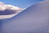 Gypsum sand dune, World's largest gypsum sand dune complex, New Mexico