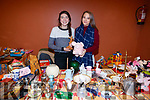 Katie Crowe and Alex Kelly, pictured at St. John's Parish Bazaar, held at the KDYS, Tralee on Saturday night last.