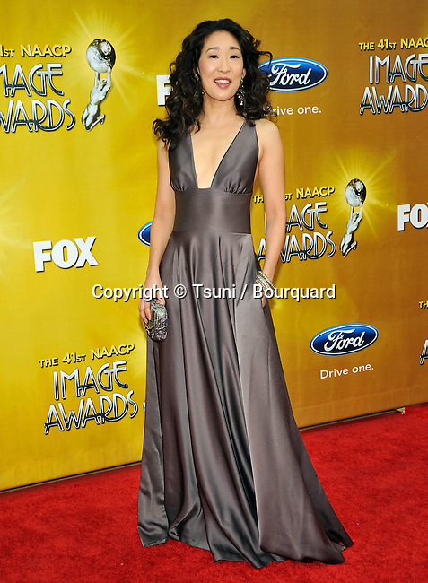 Sandra Oh _30   -.41st NAACP Image Awards at the Shrine Auditorium in Los Angeles.