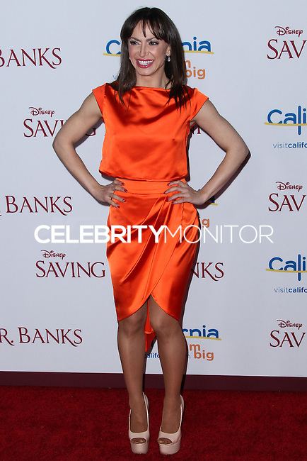 "BURBANK, CA - DECEMBER 09: Karina Smirnoff arrives at the U.S. Premiere Of Disney's ""Saving Mr. Banks"" held at Walt Disney Studios on December 9, 2013 in Burbank, California. (Photo by Xavier Collin/Celebrity Monitor)"