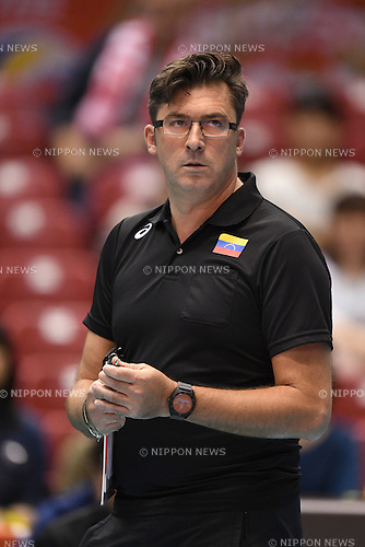 Nacci Vincenzo (VEN), <br /> JUNE 2, 2016 - Volleyball :<br /> Men's Volleyball World Final Qualification for the Rio de Janeiro Olympics 2016<br /> match between Poland 3-0 Venezuela<br /> at Tokyo Metropolitan Gymnasium, Tokyo, Japan.<br /> (Photo by AFLO SPORT)