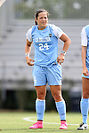 06 September 2015: North Carolina's Paige Nielsen. The University of North Carolina Tar Heels played the University of Southern California Trojans at Koskinen Stadium in Durham, NC in a 2015 NCAA Division I Women's Soccer match. UNC won the game 2-1.