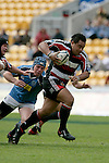 Simon Lemalu breaks past the Northland defence. Air NZ Cup week 4 game between the Counties Manukau Steelers and Northland played at Mt Smart Stadium on the 19th of August 2006. Northland won 21 - 17.