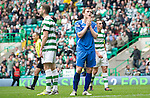 Celtic v St Johnstone....01.04.12   SPL.Liam Craig after missing a sitter.Picture by Graeme Hart..Copyright Perthshire Picture Agency.Tel: 01738 623350  Mobile: 07990 594431
