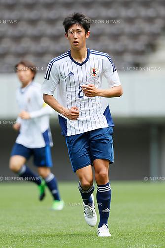 Hiroki Ito (JPN), <br /> APRIL 18, 2017 - Football / Soccer : <br /> U-20 Japan National team training match <br /> between U-20 - JEF United Chiba <br /> in Chiba, Japan. <br /> (Photo by Yohei Osada/AFLO SPORT)