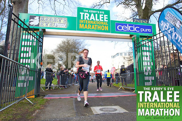 1231 Martina Gaynor1585 Breeda O'Leary who took part in the Kerry's Eye, Tralee International Marathon on Saturday March 16th 2013.