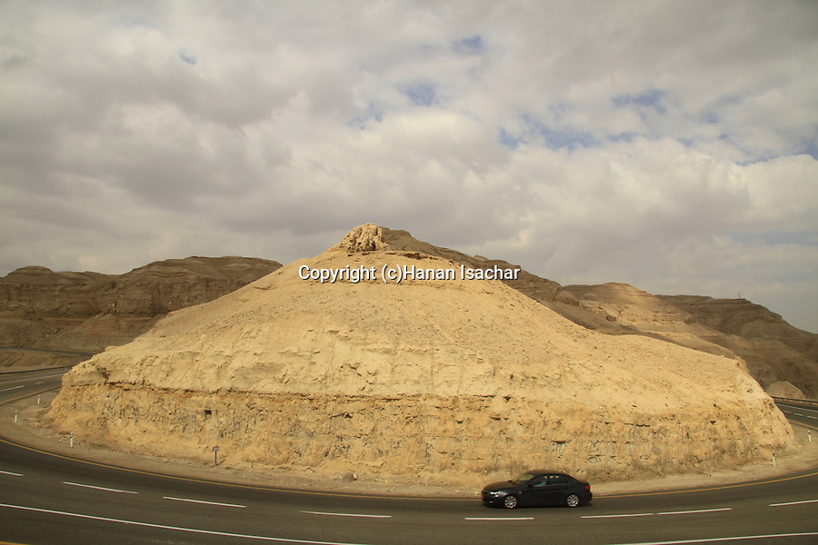 Israel, road 25 to the Dead Sea