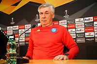 Napoli conf Ancelotti e allenamento